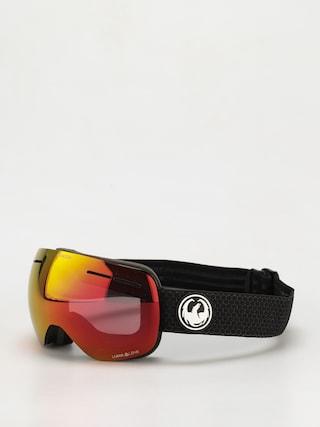 Snowboardové okuliare Dragon X1S (split/ll red ion/ll light rose)