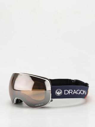 Snowboardové okuliare Dragon X2 (camper/ll silver ion/ll yellow)