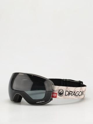 Snowboardové okuliare Dragon X2s (686 camo/ll dark smoke/ll rose)