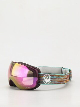 Snowboardovu00e9 okuliare Dragon X2s (shred together/ll pink ion/ll dark smoke)
