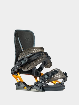 Snowboardovu00e9 viazanie Rome Katana (black/orange)
