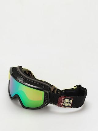 Snowboardovu00e9 okuliare Anon Relapse Mfi (crazy eyes green/perceive variable green)