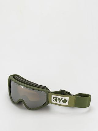 Snowboardovu00e9 okuliare Spy Woot (colorblock olive  bronze w/siliver mirror persimmon)