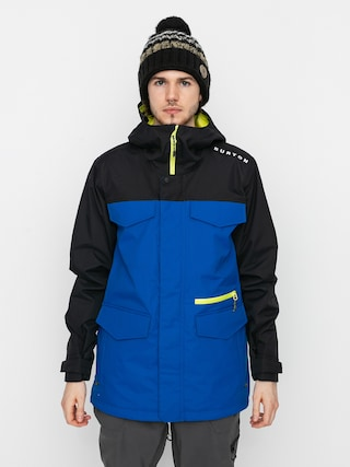 Snowboardovu00e1 bunda Burton Covert (true black/lapis blue)