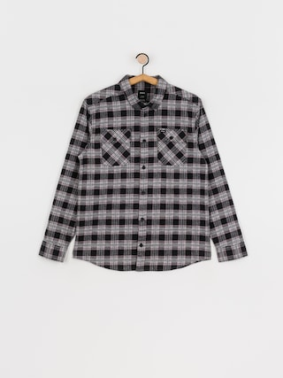 Kou0161eu013ea RVCA Thatll Work Flannel Ls (black)