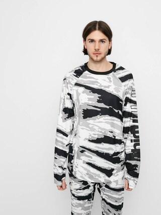 Spodnu00e9 pru00e1dlo ThirtyTwo Longsleeve Ridelite Shirt Ls (white/camo)