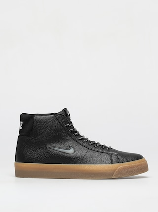 Topu00e1nky Nike SB Zoom Blazer Mid Premium (black/white black gum light brown)