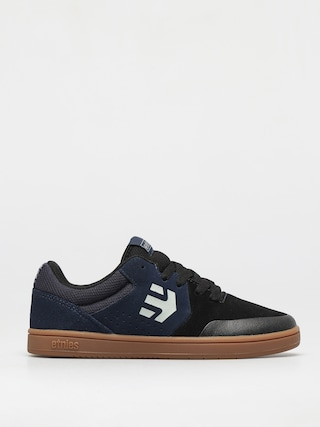 Topu00e1nky Etnies Kids Marana JR (black/blue)