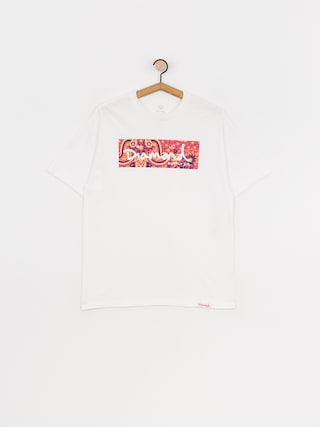 Triu010dko Diamond Supply Co. Paisley Box Logo (white)