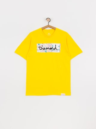 Triu010dko Diamond Supply Co. Paisley Box Logo (yellow)