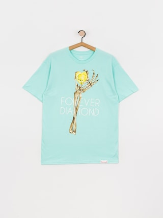 Triu010dko Diamond Supply Co. Heart Of Tee (diamond blue)