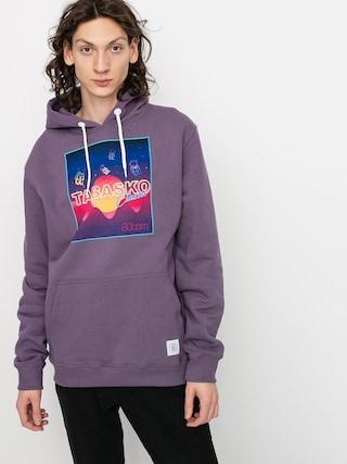 Mikina s kapucňou Tabasko Kosmos HD (purple)
