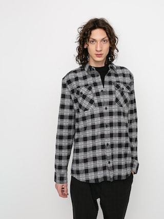 Košeľa RVCA Thatll Work Flannel Ls (black)