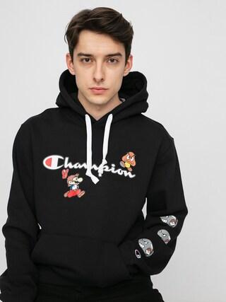 Mikina s kapucu0148ou Champion X Nintendo Sweatshirt HD (nbk)