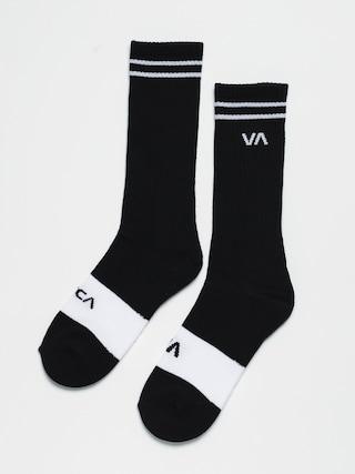 Ponožky RVCA Union Skate (black)