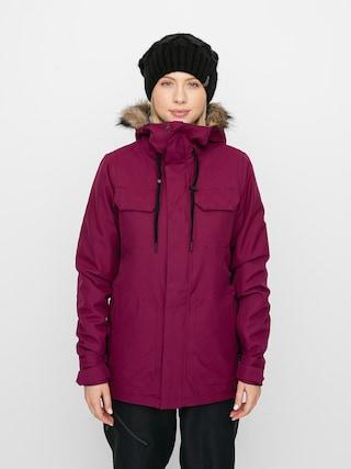 Snowboardová bunda Volcom Shadow Ins Wmn (vibrant purple)
