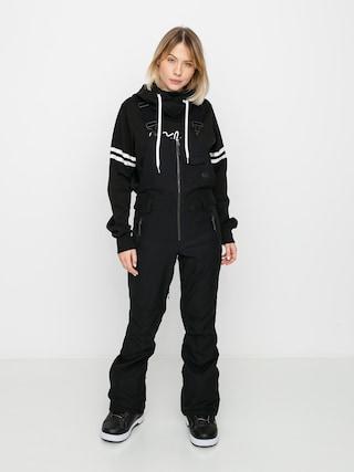 Snowboardové nohavice Volcom Swift Bib Overall Wmn (black)