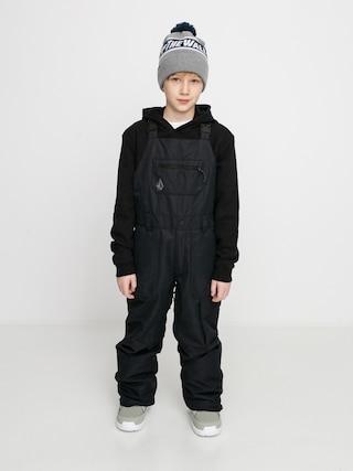 Snowboardovu00e9 nohavice Volcom Barkley Bib Overall (black)