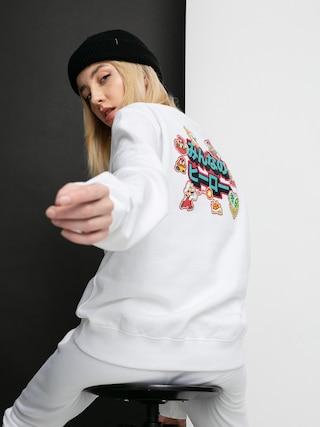 Mikina Champion X Nintendo Sweatshirt Wmn (wht)