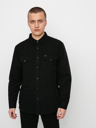 Košeľa Brixton Davis Reserve Ls (black)