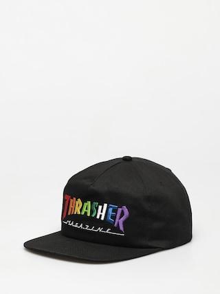 u0160iltovka Thrasher Rainbow Mag Snapback ZD (black)