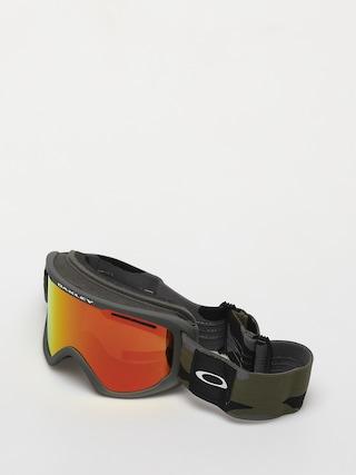 Snowboardovu00e9 okuliare Oakley O Frame 2 0 Pro XL (dark brush camo/fire iridium & persimmon)