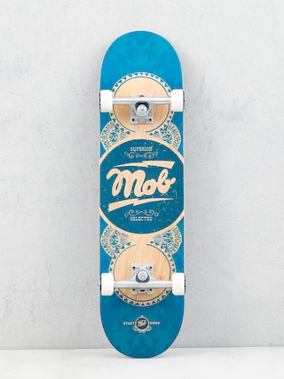Skateboard Mob Skateboards Gold Label (teal)