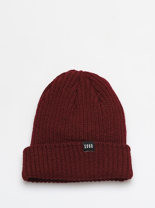 u010ciapka Sour Solution Sweeper Beanie (maroon)