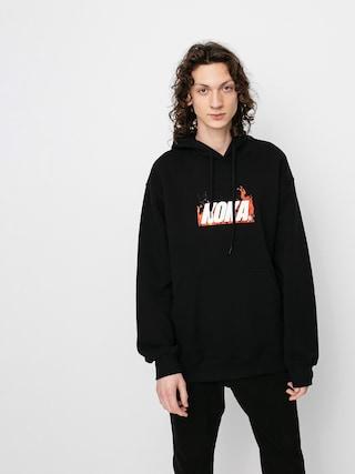 Mikina s kapucu0148ou Koka Fire HD (black)