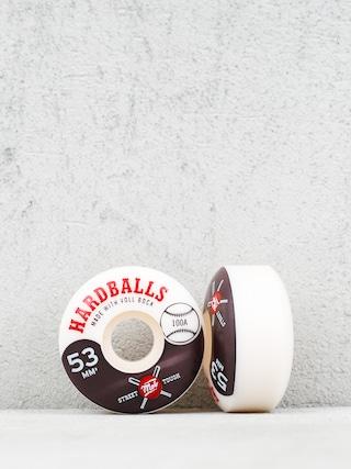 Kolieska Mob Skateboards Hardballs (white/black)