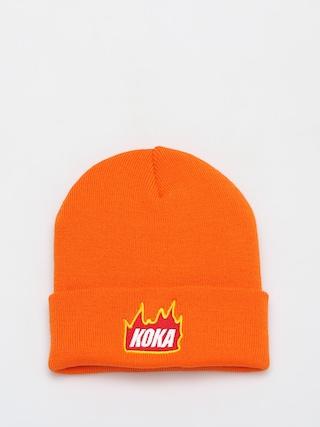 u010ciapka Koka Fire (orange)