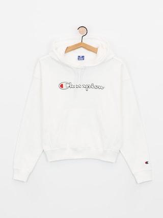 Mikina s kapucu0148ou Champion Sweatshirt HD 112638 Wmn (wht)