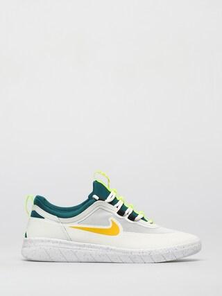 Topu00e1nky Nike SB Nyjah Free 2 (summit white/university gold geode teal)