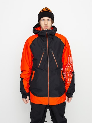 Snowboardovu00e1 bunda ThirtyTwo Tm Jacket (black/orange)