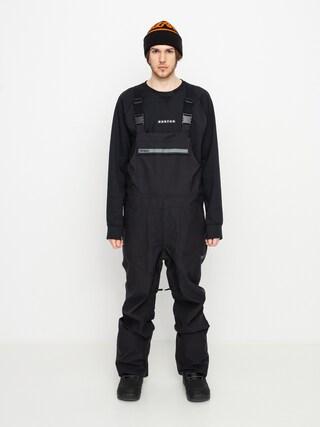 Snowboardovu00e9 nohavice ThirtyTwo Basement Bib (black)