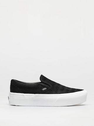 Topu00e1nky Vans Classic Slip On Platform (deboss otw black/black)