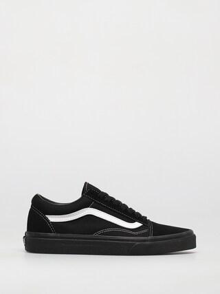 Topu00e1nky Vans Old Skool (suede/canvas black/black/true white)