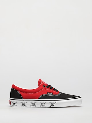 Topu00e1nky Vans Era (new varsity black/high risk red)