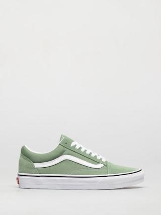 Topu00e1nky Vans Old Skool (shale green/true white)