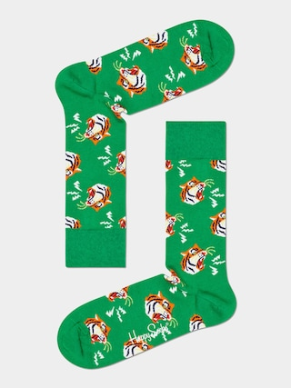 Ponou017eky Happy Socks Tiger (green)