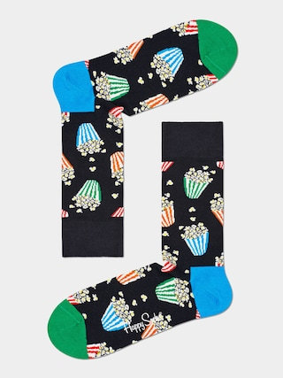 Ponou017eky Happy Socks Popcorn (black)