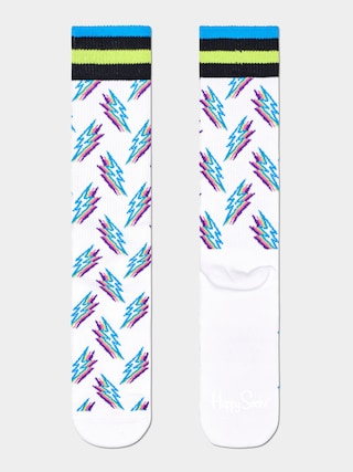 Ponou017eky Happy Socks Shadow Flash (white)