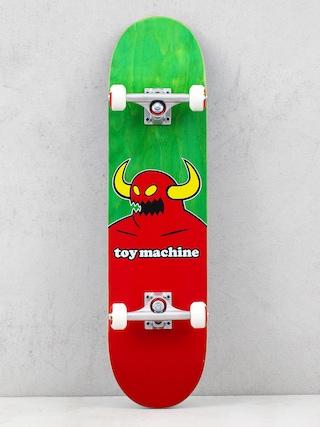 Skateboard Toy Machine Monster (green/red)