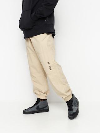 Nohavice Nike SB Left Leg Logo (grain/velvet brown)