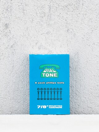 Skrutky Dial Tone Matchbook Bolts Phillips (blue)