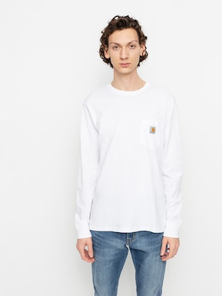 Triko Carhartt WIP Pocket (white)