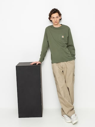 Triko Carhartt WIP Pocket (dollar green)