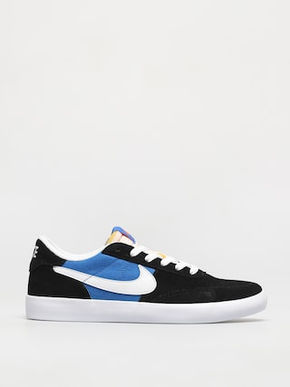 Topu00e1nky Nike SB Heritage Vulc (black/white signal blue safety orange)