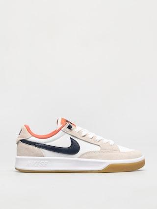 Topu00e1nky Nike SB Adversary Premium (white/midnight navy turf orange)