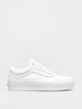 Topu00e1nky Vans Old Skool Platform (true white)